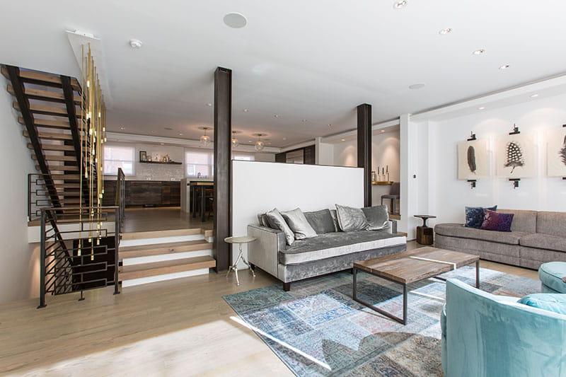 contemporary urban home