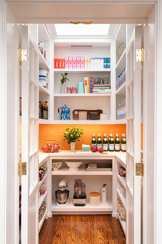 updated main line pantry