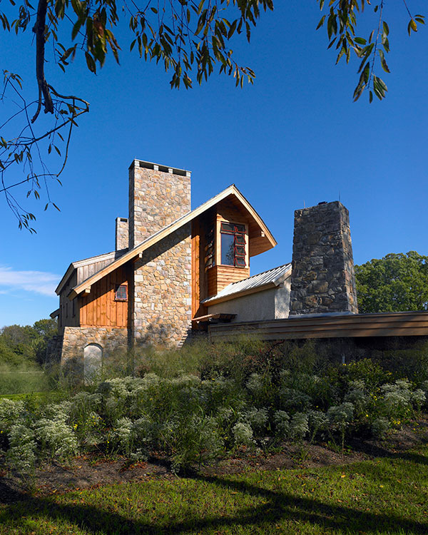 environmentally friendly country home by Shay Construction in Philadelphia