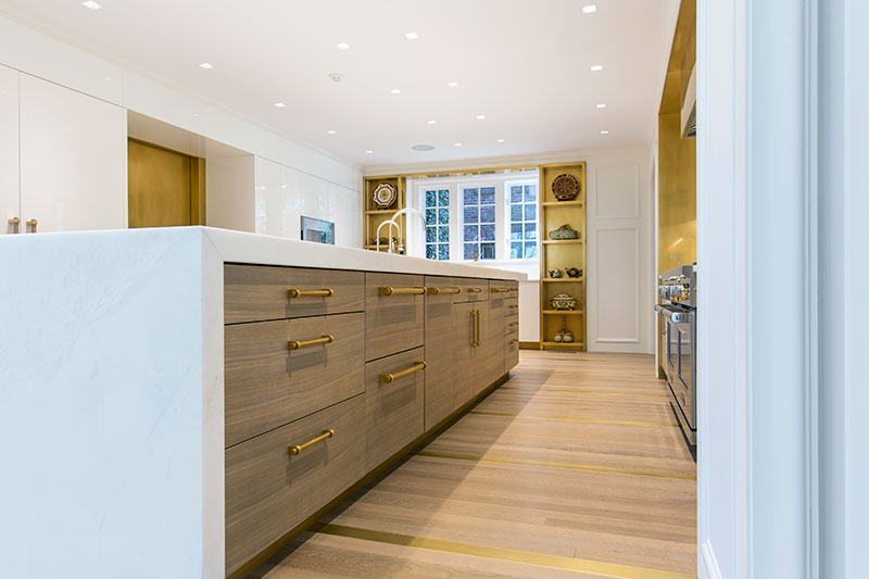 high end kitchen design by Shay Construction, Main Line contractor